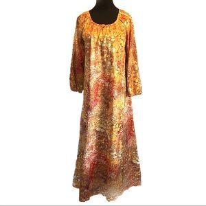 Cute vintage 70's maxi dress
